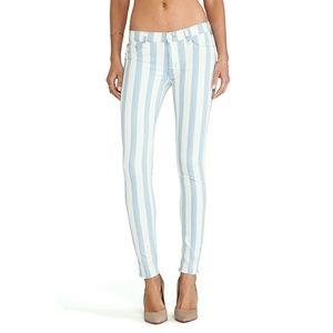 Hudson Jeans Krista Super Skinny striped jeans 27